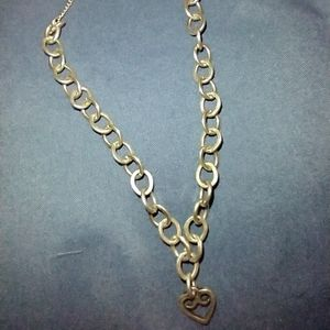 James Avery 925 Sterling Silver Heart Link Charm B